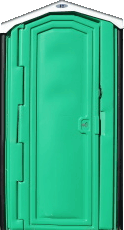 Green Porta Potty