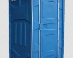 blue portapotty