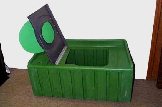 Porta john fpt300 folding portable toilet porta potty for Porta johns for sale
